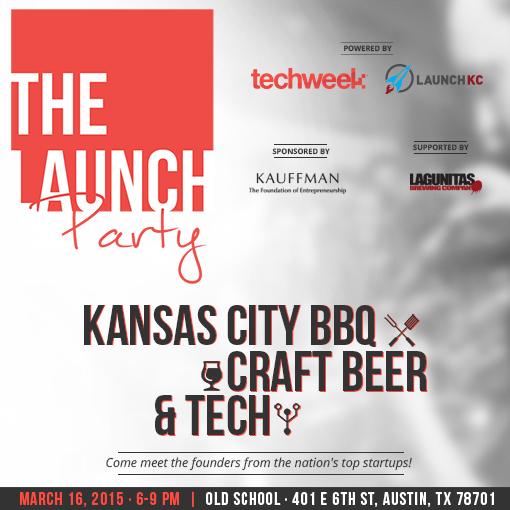 Launch Party invite